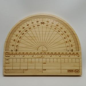 Fred Bamboo Cheese Degrees Board